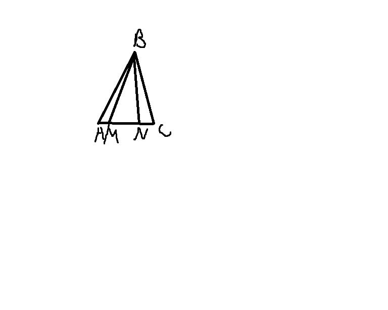 №1 В равнобедренном треугольнике ABC с основанием AC к боковой стороне AB проведена медиана CD. Периметр треугольника DBC больше периметра треугольника ADC на 19 см. Найдите стороны треугольника ABC, если его периметр равен 53 см.№2 В равнобедренном треугольнике ABC с основанием AC медианы AA1 и СС1 пересекаются в точке О. Найдите среди образовавшихся треугольников два равных треугольника с общим углом B и докажите их равенство.№3 На продолжении основания MN равнобедренного треугольника MBN выбраны точки A и B так. что AN= MC. Найдите длины отрезков AB и BC, если AC=14 см, Периметр треугольника абс= 42 см.ВЛОЖЕНИЕ К №3Загрузить png