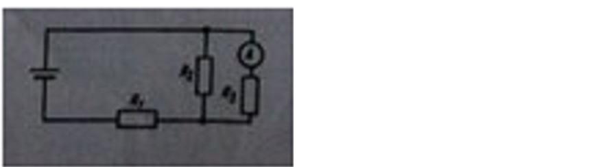 здравствуйте,помогите,пожалуйста)))))) Определить силу тока, показываемую амперметром в схеме.Напряжение на зажимах равно 2,2 В. Сопротивления R1=4 ом,R2=2 ом, R3=6 ом.Сопротивлением амперметра пренебречь.